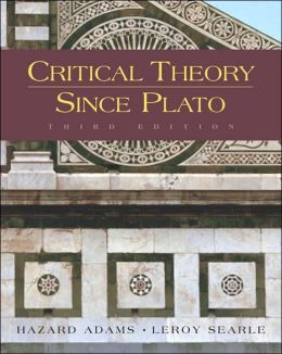 critical theory since plato pdf