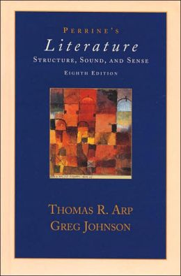 Perrine's Sound and Sense: An Introduction to Poetry 9th Edition