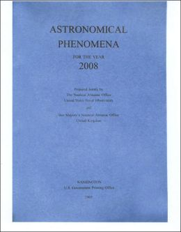 Astronomical Phenomena for the Year 2008
