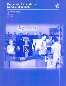 Consumer Expenditure Survey, 2002-2003