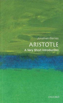 Aristotle: A Very Short Introduction: A Very Short Introduction