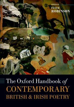 The Oxford Handbook of Contemporary British and Irish Poetry