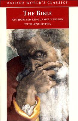 Bible: King James Version (KJV) with Apocrypha