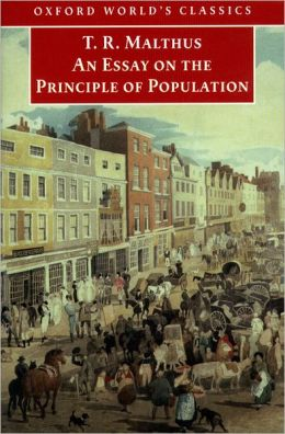 An Essay on the Principle of Population ( Oxford World's Classics Series)