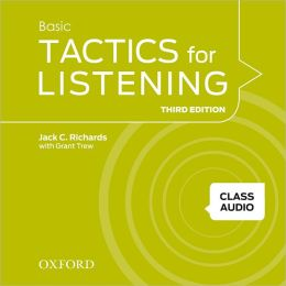 Tactics for Listening Basic Class Audio CDs (4 Discs): A classroom-proven, American English listening skills course for upper secondary, college and university students.
