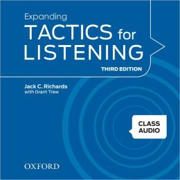 Expanding Tactics for Listening, Third Edition: Class Audio CDs (4)