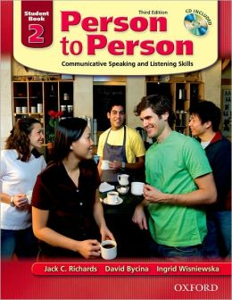 Person to Person Third Edition 2: Student Book with Audio CD