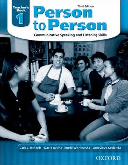 Person to Person Third Edition 1: Teacher's Book