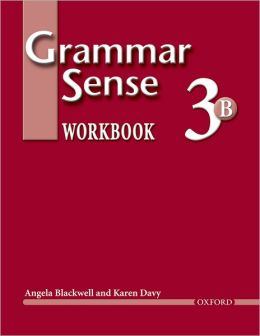 Grammar Sense 3: Workbook 3 Volume B