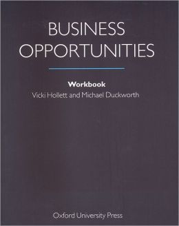 Business Opportunities: Workbook