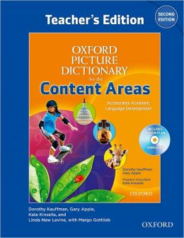 Oxford Picture Dictionary for the Content Areas Teacher's Edition with Lesson Plan CD Pack