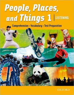 People, Places, and Things 1 Listening Student Book