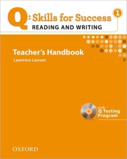 Q: Skills for Success - Reading & Writing 1: Teacher Book