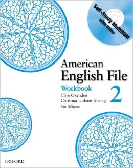 american english file 2 workbook with multi rom by clive. Black Bedroom Furniture Sets. Home Design Ideas