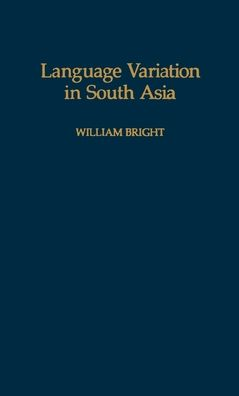 Language Variation in South Asia