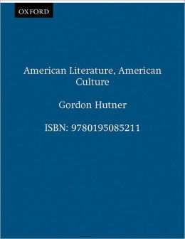 American Literature, American Culture