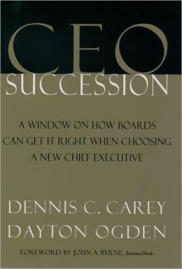 CEO Succession