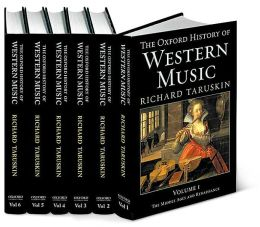 Oxford History of Western Music: 6-volume set