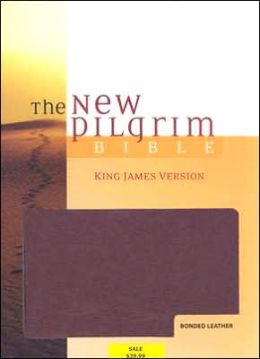 The New Pilgrim Bible, Student Edition: King James Version (KJV), burgundy bonded leather