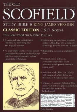 The Old Scofieldi'A Study Bible, KJV, Classic Edition