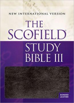 The Scofieldi'A Study Bible III, NIV