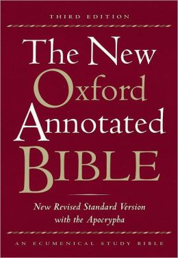 New Oxford Annotated Bible with the Apocrypha: New Revised Standard Version (NRSV), thumb-indexed