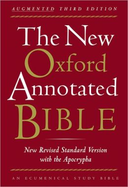 New Oxford Annotated Bible, Augmented/NRSV with Apocrypha (9700A)