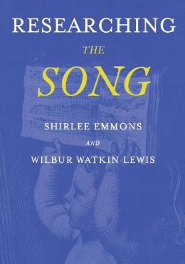 Researching the Song: A Lexicon