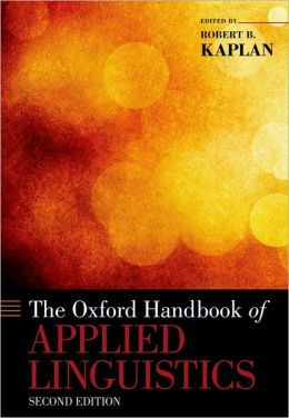 The Oxford Handbook of Applied Linguistics