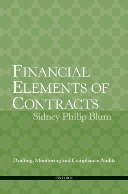Financial Elements of Contracts: Drafting, Monitoring and Compliance Audits