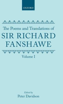 The Poems and Translations of Sir Richard Fanshawe
