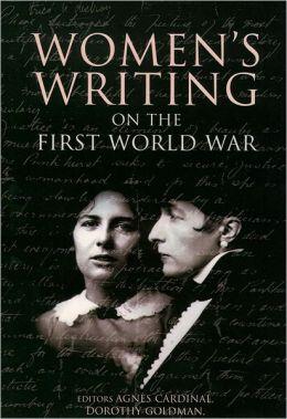 Women's Writing on the First World War