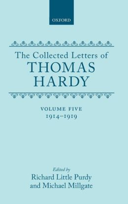 The Collected Letters of Thomas Hardy, 1914-1919