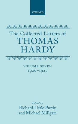 The Collected Letters of Thomas Hardy, 1926-1927