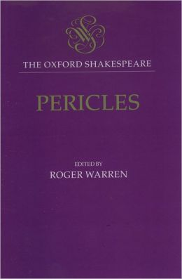 Pericles (Oxford Shakespeare Series)