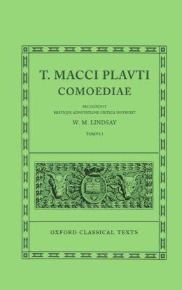 T. Macci Plauti Comoediae One
