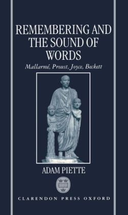 Remembering and the Sound of Words: Mallarmi'A, Proust, Joyce, Beckett