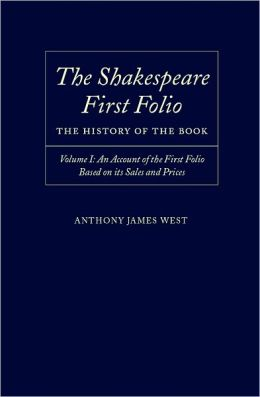 An Account of the First Folio Based on Its Sales and Prices, 1623-2000