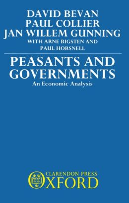 Peasants and Governments: An Economic Analysis