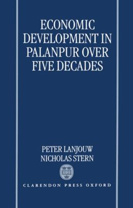 Economic Development in Palanpur over Five Decades