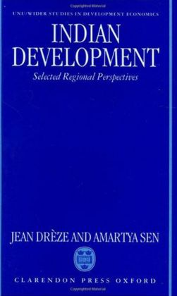 Indian Development: Selected Regional Perspectives