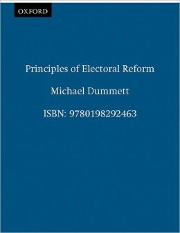 Principles of Electoral Reform