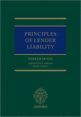 Principles of Lender Liability