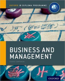 IB Business and Management: For the IB diploma
