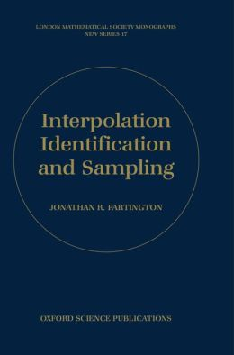 Interpolation, Identification, and Sampling