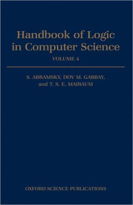 Handbook of Logic in Computer Science: Volume 4: Semantic Modelling