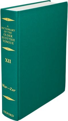 Dictionary of the Older Scottish Tongue (War-Zurnbarrie)
