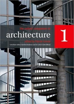 The Oxford Companion to Architecture: Two-volume set