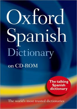 Oxford Spanish Dictionary CD-ROM