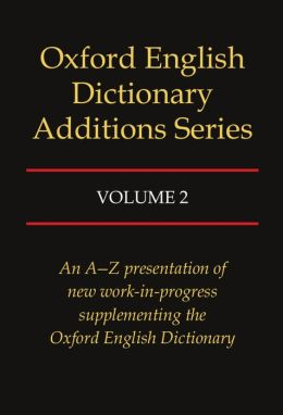 Oxford English Dictionary Additons Series